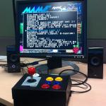 Arcade on desk